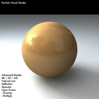 Particle Wood Shader