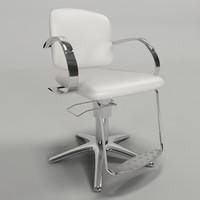 3ds hair chair - cadeira
