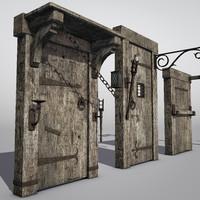 set medieval hardware blend