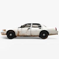 generic car dirt 3ds