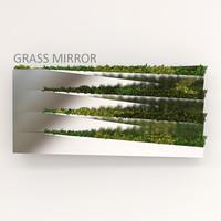 3d grass mirror