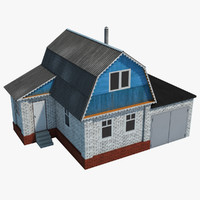 homes house 3d max