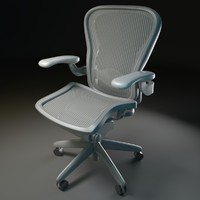 office chair aeron 3d model