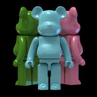 3d model bear brick