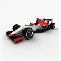 3d model manor-marussia 2015 v2
