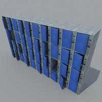 metal storage 3d model
