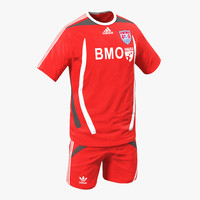 3d model soccer clothes 2