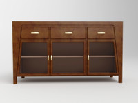 maya cabinet furniture wood