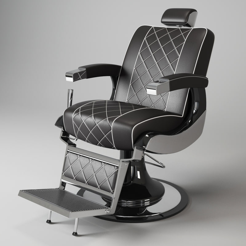 Barber chairs drawing - Barber Chair Maletti Z