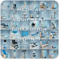 medical equipment 36 1 3d max