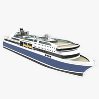 passenger ferry 3d 3ds