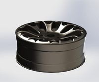 Automobile cast titanium disk