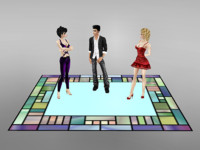imvu carpet standing 3d 3ds