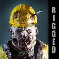 3d max fat zombie