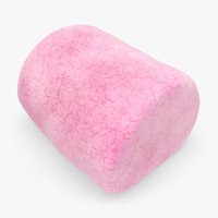 marshmallow pink 3d 3ds