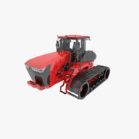 maya scraper tractor tracked
