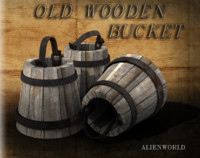 old bucket 3d 3ds
