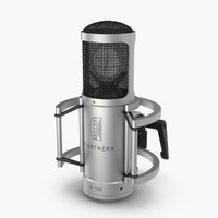 microphone brauner 3d model