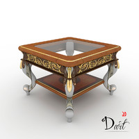 free table classic 3d model
