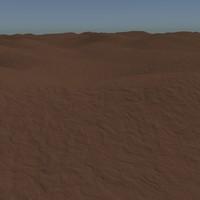 3d dirt terrain