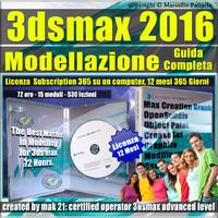 Corso 3ds max 2016 Modellazione Guida Completa 12 Mesi Subscription