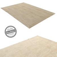 3d rug company zebra pale