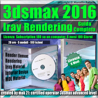 3ds max 2016 Iray Rendering Guida Completa 6 Mesi