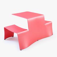3d picnik table