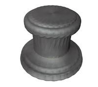 3d stone plinth