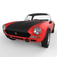 fiat 124 abarth rally 3d 3ds