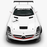 Mercedes-Benz SLS AMG GT3 Scene