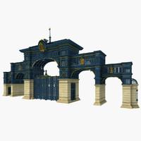 Iron Art Classical Gate