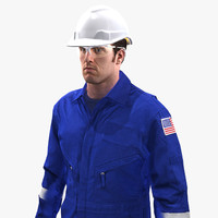 3d model mining coveralls safety