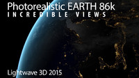 3d lightwave atmosphere earth 86k model