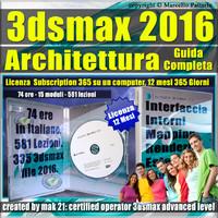 Corso 3ds max 2016 Architettura Guida Completa 12 Mesi Subscription
