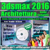 3ds max 2016 Architettura Guida Completa 6 Mesi