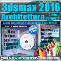 3ds max 2016 Architettura Guida Completa 3 Mesi Subscription