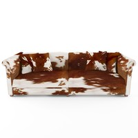 3d boutique sofa thassos poles model