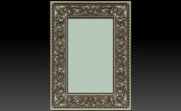 decorative frame 3ds