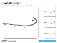 3d model 3dmd handrail