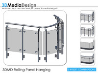 3DMD Railing Panel Hanging V2.01