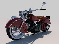 rigged indian chief 1948 obj