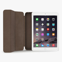 ipad air 2 silver 3d obj