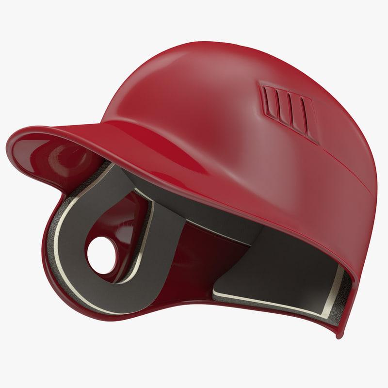 Batting Helmet 3d model 00.jpg
