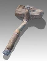 3d stone ax model