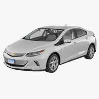 3d 3ds chevy volt 2016