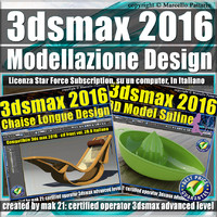 3ds max 2016 Modellazione Design Subscription