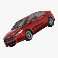 fusion s sedan 3d 3ds