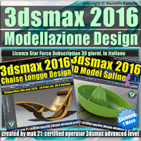 3ds max 2016 Modellazione Design 1 Mese Subscription