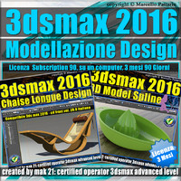 3ds max 2016 Modellazione Design 3 Mesi Subscription